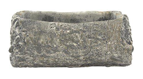 Pflanz-Gefäß Schale länglich in Steinoptik 1 Stück - groß