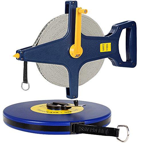Rollbandmaß 50m 【Größenauswahl / Modellauswahl】  Glasfaserverstärktes Material  Öse - Maßband Bandmaß Kapselmaßband Messband Maß Messen Rollmeter Rollmaßband
