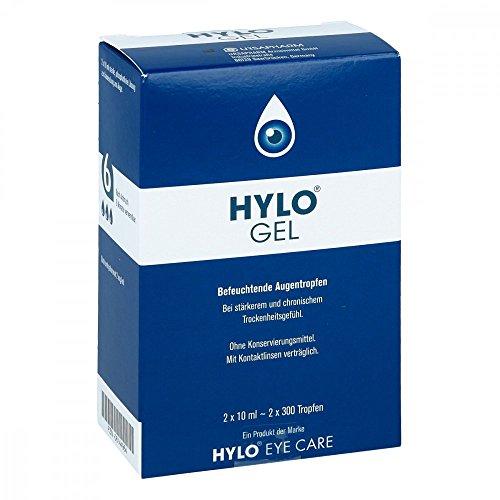Hylo-Gel Augentropfen, 2x10 ml
