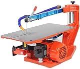 Hegner Dekupiersäge Multicut-SE, Elektro-Laubsäge mit elektronischer Drehzahlregelung, integriertes Absaugsystem, auswechselbare Tischeinlage, Art.Nr. 01840000