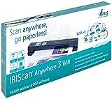 IRIS 458129 Anywhere 3 WiFi IRIScan Scanner (1200x1200 dpi, USB) schwarz