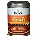 Herbaria 'Kürbiskönig' Suppen und Eintopfgewürz, 1er Pack (1 x 90 g Dose) - Bio