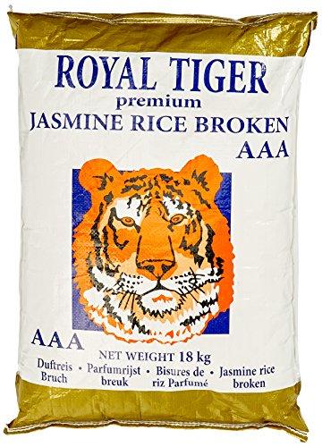 Royal Tiger Reis Jasmin bruch, 1er Pack (1 x 18 kg)
