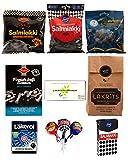 Lakritz-Mix Salzig & Salmiak / Probier-Set 880 g / Lakritz-Box mit 11 verschiedenen Sorten aus Skandinavien