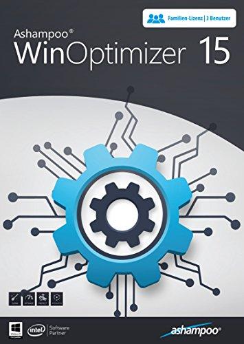 WinOptimizer 15 - 3 USER Lizenz für Windows 10 / 8.1 / 8 / 7