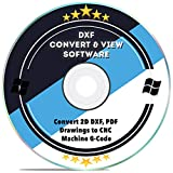 DXF Software dxf2gcode CAD Viewer Konverter 2D DXF, PDF Zeichnungen auf CNC Maschine G-Code für Windows 10 8 7