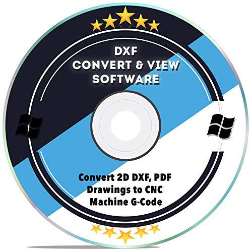 DXF Software dxf2gcode CAD Viewer Konverter 2D DXF, PDF Zeichnungen auf CNC Maschine G-Code für Windows 10 8 7