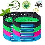 BESTZY Anti Mosquito Repellent Bracelet, 8 Stück Mückenschutz Armband Anti Mosquito Bracelet für Kinder geeignet, Erwachsene Indoor und Outdoor Camping