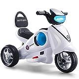 Elektro-Dreirad-Motorrad mit Licht & Soundeffekten / vorwärts & rückwärts