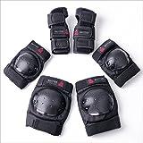 BAYTTER Protectorenset Schutzausrüstung Set Kniepolster Ellbogenpolster Handgelenkpolster für Kinder und Erwachsene Knie Ellbogen Handgelenk Schützer (Für Kinder)