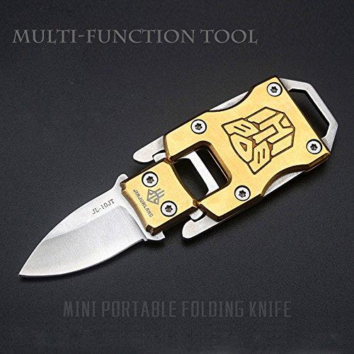 NedFoss Messer Outdoor Mini Klein EDC Taschenmesser Taschenwerkzeug Gürtelmesser