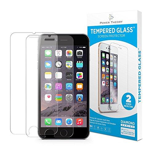 iPhone 7/8 Panzerglas (2 Stück) - Japanisches 9H Tempered Glass Hartglas, HD Displayschutzfolie, Panzerglasfolie, Handy Schutzglas Glasfolie, Schutzfolie Gehärtetes Panzerfolie Glas 3D touch kompatibel