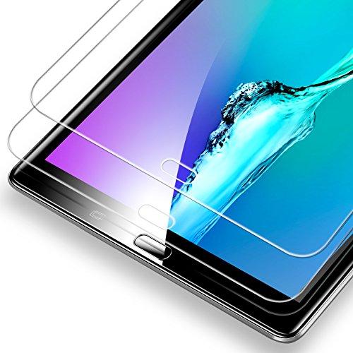 2 X Samsung Galaxy Tab A 10.1 Schutzfolie, Samsung T580 Panzerglas, ESR Tempered Glas Folie Panzerglas Displayschutz Folie für Samsung Galaxy Tab A 10.1 2016 T580/T580N