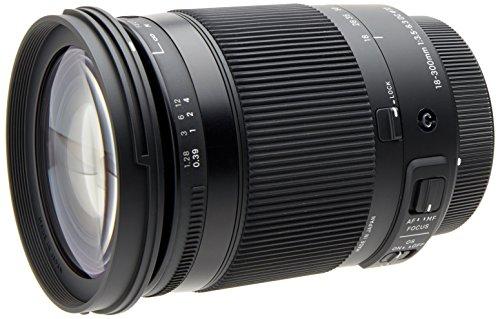 Sigma DC Makro OS HSM 18-300mm F3,5-6,3 Objektiv (72mm Filtergewinde) für Canon Objektivbajonett schwarz