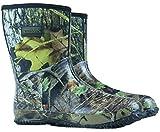 Nitehawk - Neopren-Gummistiefel für Jagd & Angeln - Camouflage-Muster - wadenlang - Größe 44,5