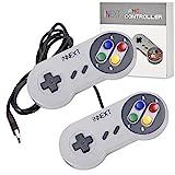 iNNEXT 2x USB SNES Gamepad/Controller für PC Windows 10 Mac Raspberry Pi retropie gamepad NES/SNES Emulator