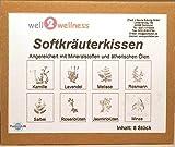 well2wellness Sauna + Dampfbad Kräuterkissen Pack mit 8 verschiedenen Aromen