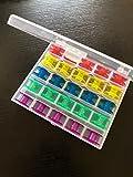 Spulenbox mit 25 farbigen Spulen (CB)