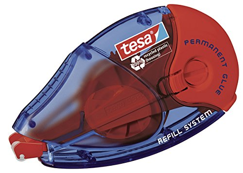 Tesa 59606-00000-02 EcoLogo Refill-Kleberoller PERMANENT GLUE, 2er Pack