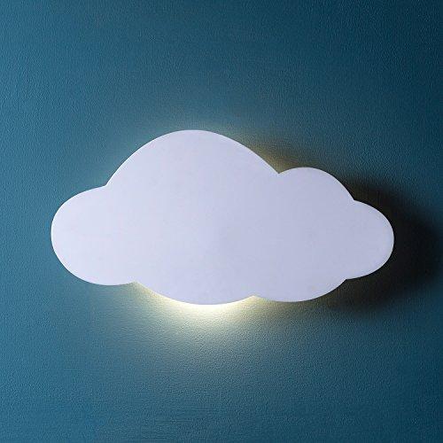 LED Wolke Schlafzimmer Nacht Licht warmweiß Timer batteriebetrieben Lights4fun