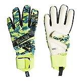 adidas Herren Predator Pro Manuel Neuer Torwarthandschuhe, solar Yellow/Bright Cyan/Black, 8.5