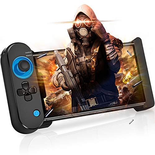 BEBONCOOL IOS Controller, Mobile Controller für iPhone/iPad, Wireless Gamepad Handy Controller für IOS, Wireless Controller für PUBG Mobile/Arena of Valor/Knives Out/Strike of Kings
