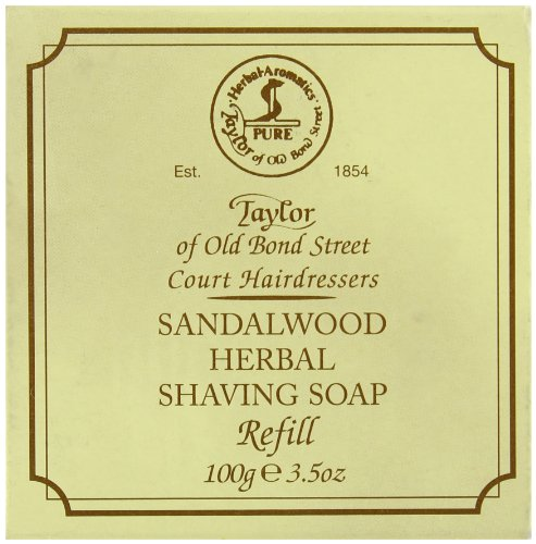 Taylor of Old Bond Street sandalholz Rasierseife (nachfüllen) 100g