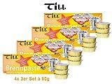 TILL Sicherheits-Brennpaste 4X 3er-Set à 80 g (12 Stück)