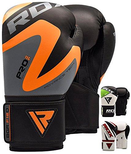RDX Boxhandschuhe Muay Thai Boxsack Kickboxen Training Sparring Sandsack Maya Hide Leder Boxing Gloves