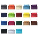 6er Pack / 12er Pack - Gästetücher Set - 6 Gästetücher 30x50 cm - Farbe Apfelgrün
