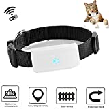 GPS Tracker, TKSTAR Mini Hunde Katzen GPS Tracker Echtzeit Locator GPS / GSM / WIFI Location Finder Wasserdichte Mini Personal Haustier GPS Tracker mit kostenlosen APP Tracking TK911 Schwarz