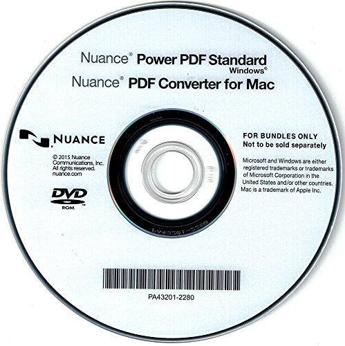 Nuance Power PDF Standard DEUTSCH - WINDOWS - OEM - Vollversion - DVD (inkl. PDF Converter for MAC)