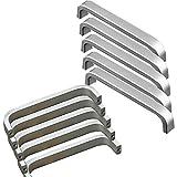 20 Stück Qrity Lochabstand - 96mm Solide Material Aluminiumlegierung Möbel Griffen Kabinett Griffe Möbelgriffe Knöpfe Türgriffe