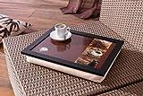 Knie-Tablett mit Kissen 'Kaffee'