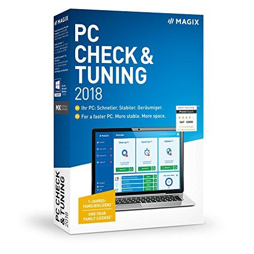 MAGIX PC Check & Tuning – Version 2018 – Macht Ihren PC: Schneller. Stabiler. Geräumiger.