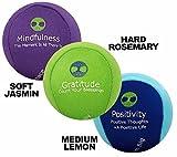 3x Stressbälle für Körper und Geist - AROMATHERAPIE & POSITIVE AFFIRMATIONEN, um Angst zu lindern & die Stimmung aufzubessern! Der ideale Antistressball für Stressabbau und Stressbewältigung. Der beste anti-stress balle Knetball