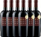 6er Paket - MEA CULPA Vino Rosso Italia - Cantine Minini | halbtrockener Rotwein | italienischer Wein aus Apulien und Sizilien | 6 x 0,75 Liter