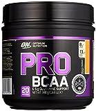 Optimum Nutrition PRO BCAA- Verzweigtkettige Aminosäuren (L-Leucin, L-Isoleucin, L-Valin, mit Glutamine, BCAA Pulver von ON) Peach Mango, 20 Portionen, 390g