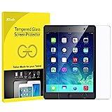 JETech Panzersglas für Apple iPad (9,7-Zoll, 2018/2017 Modell), iPad Air 1, iPad Air 2, iPad Pro 9,7-Zoll, Gehärtetem Glas Schutzfolie