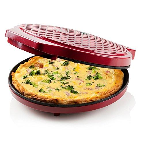 Express PIZZAPFANNE   für Pizza   Quiche   Omlett   Zubereitung in nur 12min   als PIZZABACKOFEN oder BRATPFANNE nutzbar
