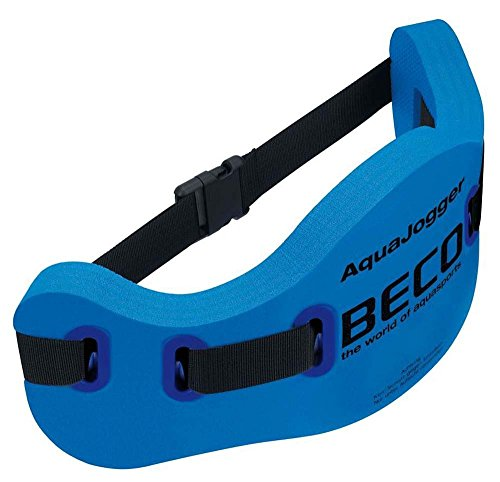 Beco Aqua-Jogging-Guertel Runner, universell verstellbar, bis 100 kg Koerpergewicht geeignet, blau