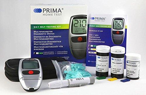 3in1 cholesterin Messgerät - PRIMA Home Test