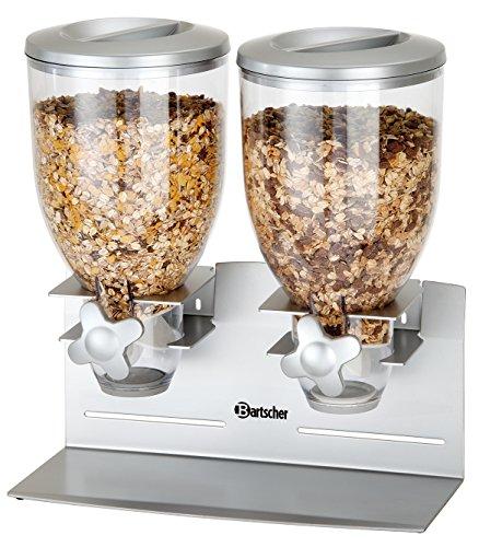 Bartscher Cerealienspender doppelt 39241000 Art. 500378