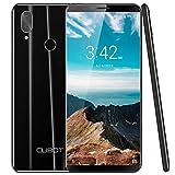 CUBOT X19 4G LTE Smartphone ohne Vertrag Handy 5.93″ FHD Display, 64GB Speicher, 4GB RAM, 4000mAh Akku, Dual-Kamera, Dual-SIM, Android Oreo 8.1 Wird auf Android 9.0 aktualisiert, (Schwarz)
