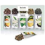 Probierset'Lebenswichtiges Grün' von Tea Forté, Teeblätter für Grünen Tee zum Aufgießen, Verschiedene Sorten, für 15 Tassen Tee
