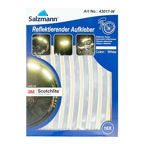 Salzmann 3M Scotchlite Reflektierende Aufkleber für Fahrradfelgen