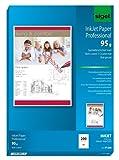Sigel IP288 InkJet-Papier Professional, A4, 200 Blatt, spezialbeschichtet matt, weiß, 95 g