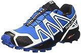 Salomon Herren Speedcross 4 GTX Schuhe, Mehrfarbig (White Sensif Indigo Bu), 47 1/3 EU