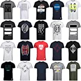 JACK & JONES T Shirt Herren 3er 6er 9er Mix Rundhals Tee Regular fit Baumwolle S M L XL (S, 9er Mix Pack)