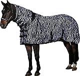 Horse Guard Fliegendecke Zebra mit elastischem Einsatz (155)